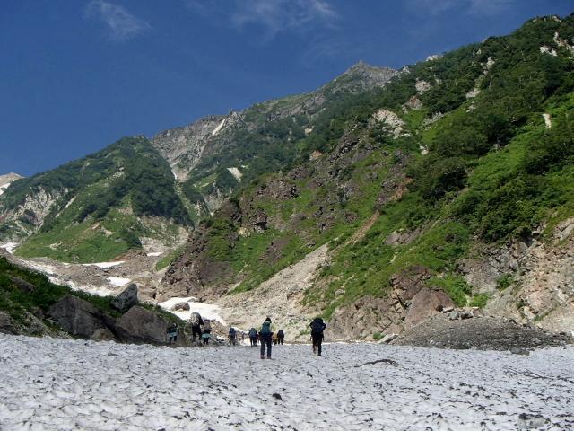 1.7大雪渓の始まり.JPG