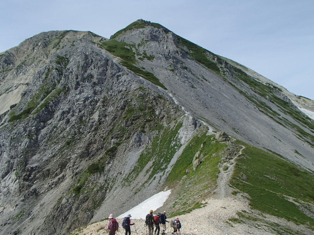 5.3鑓ヶ岳へ.JPG